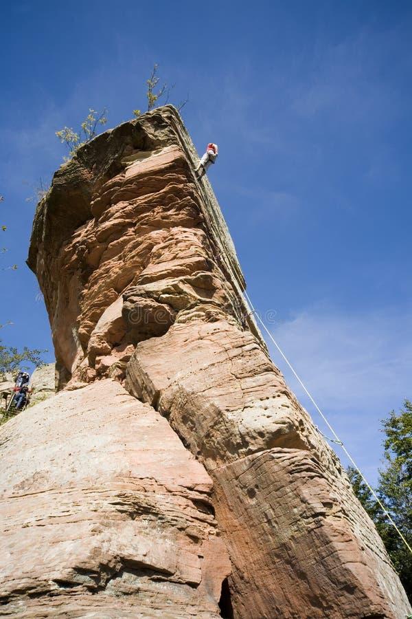 klättrarerock s fotografering för bildbyråer