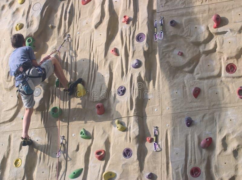 klättringutbildning arkivbilder