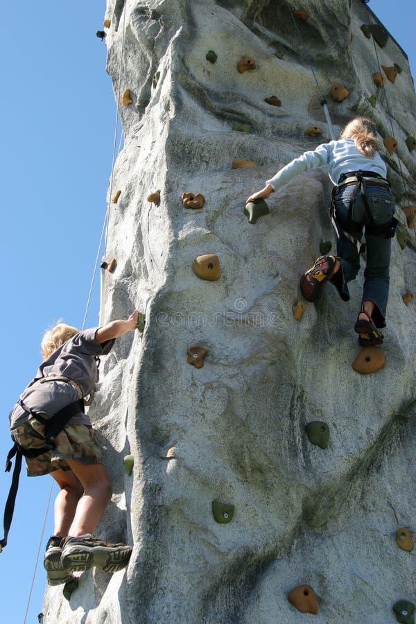 klättringvägg royaltyfri bild