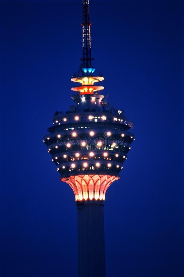 kl πύργος της Κουάλα Λουμπούρ στοκ εικόνες