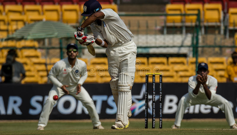 KL Rahul Cricketer royaltyfria bilder