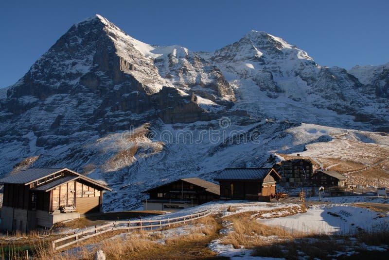 Download Kl. Scheidegg stock image. Image of wengen, lauterbrunnen - 1712867