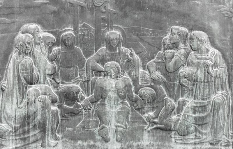Klaagzang van Christus stock fotografie