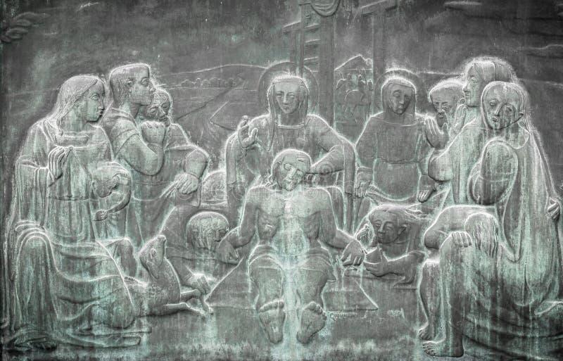 Klaagzang van Christus stock foto