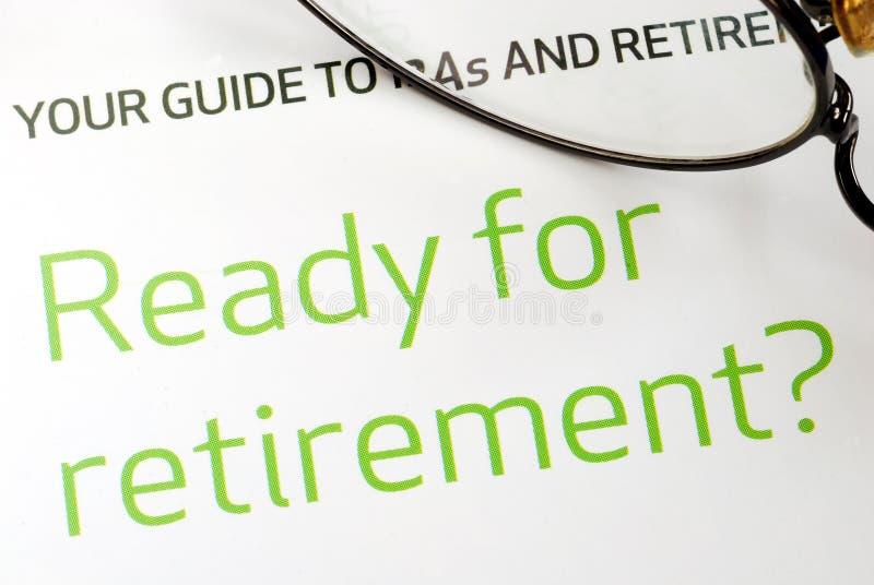 Klaar het worden voor pensionering