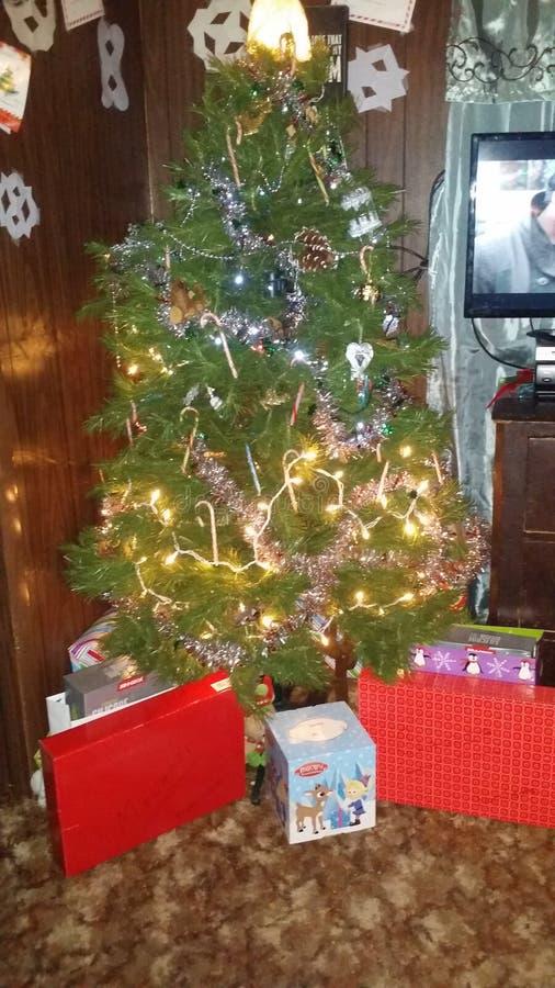Klaar Kerstmis stock foto's