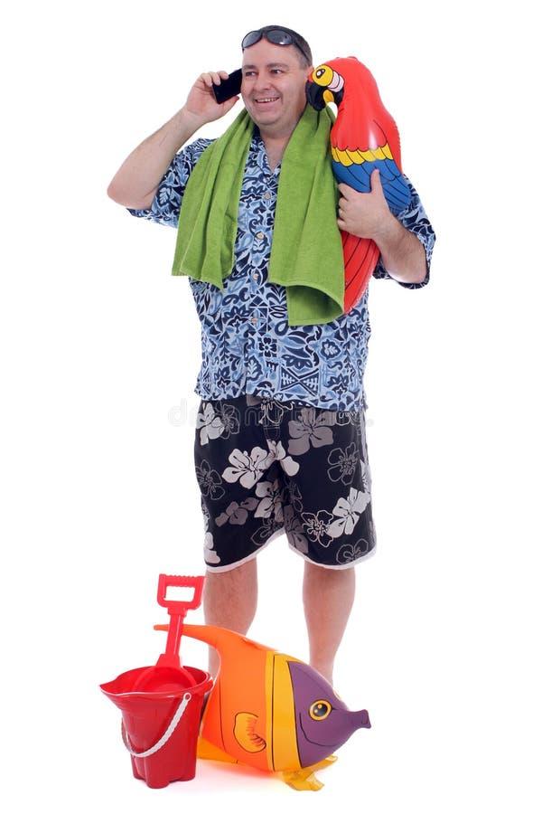Klaar strand royalty-vrije stock afbeelding