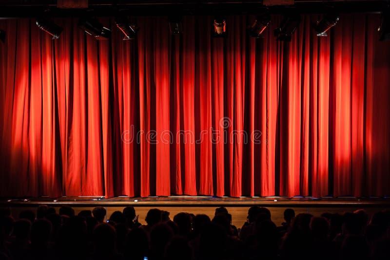 Klaar voor de show stock afbeelding