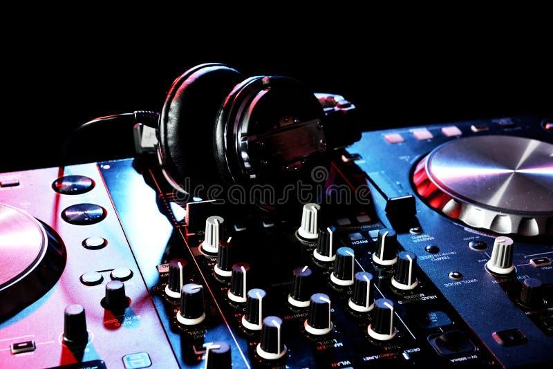 Klaar voor DJ s stock afbeelding