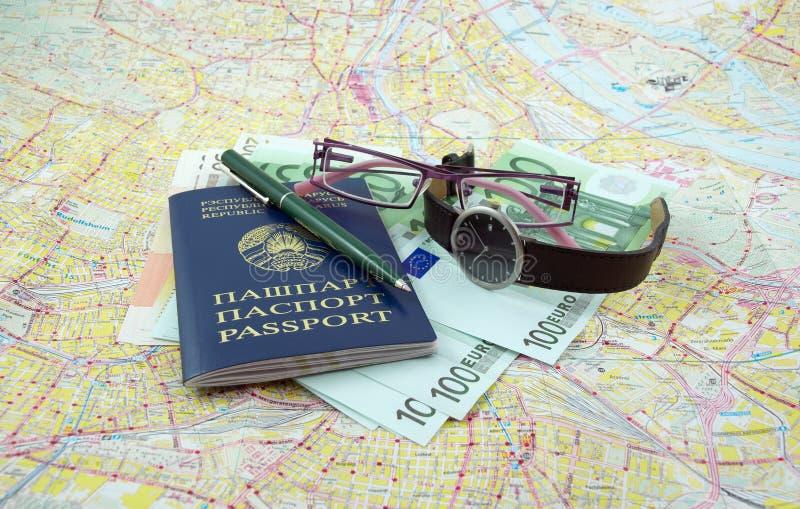 Klaar voor reis stock afbeelding