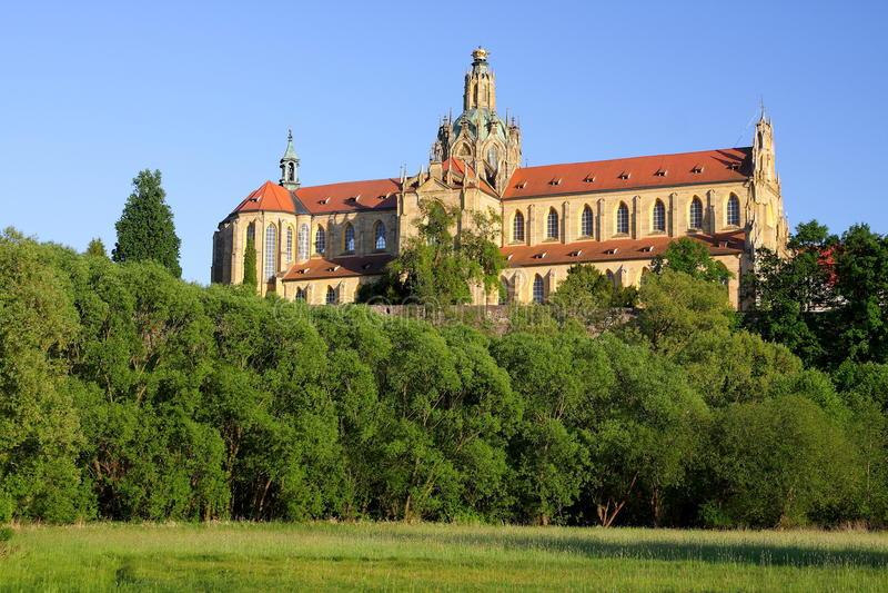 kladruby kloster royaltyfria foton