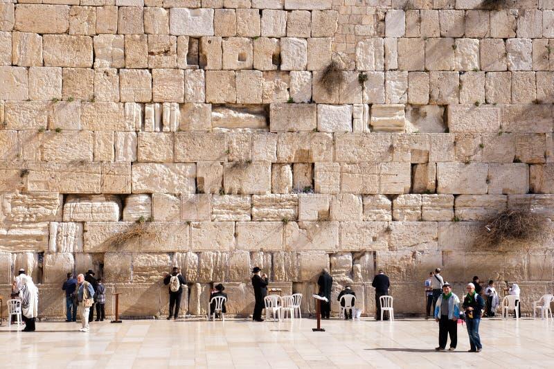 Klagemauer - Israel lizenzfreies stockfoto