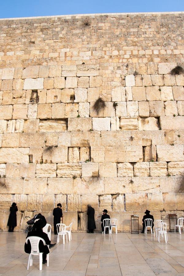 Klagemauer Israel lizenzfreies stockfoto
