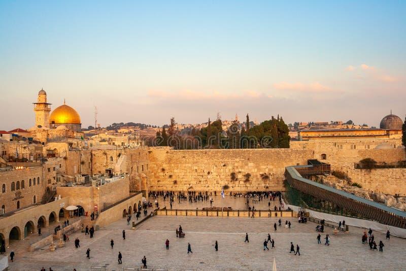 Klagemauer Jerusalem Israel lizenzfreies stockbild