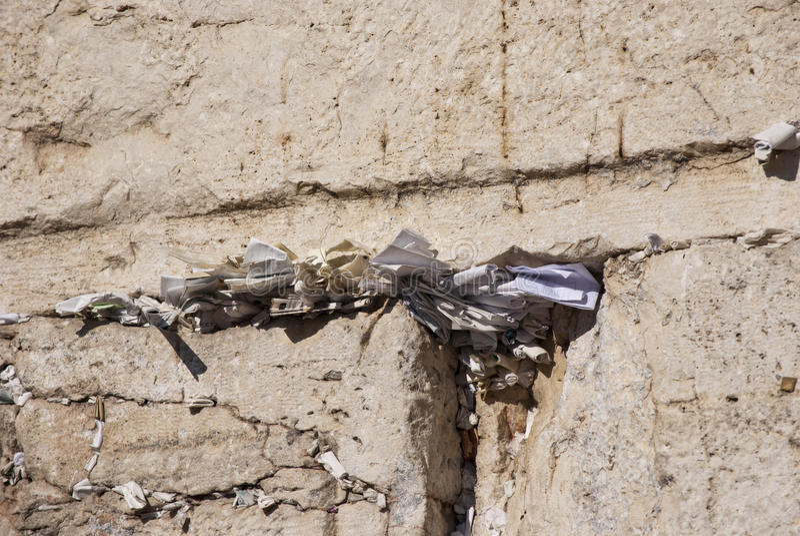 Klagemauer, Jerusalem, Israel lizenzfreie stockfotos