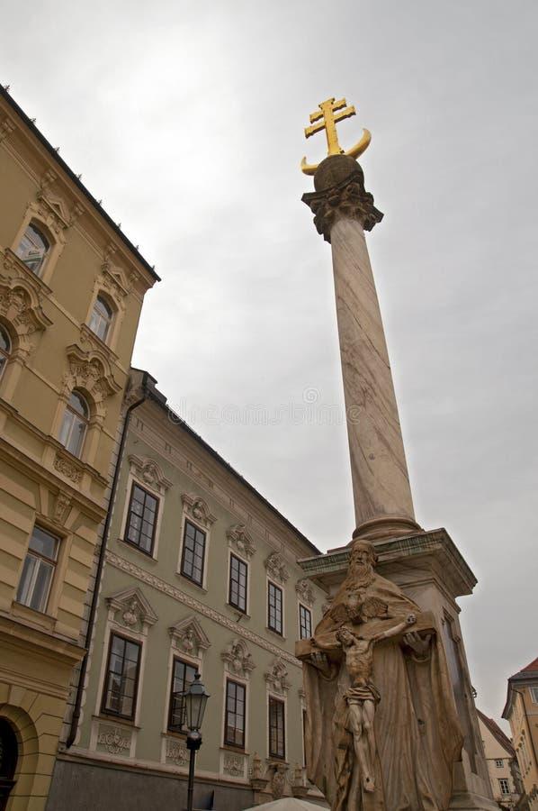 Klagenfurt, Österreich lizenzfreies stockbild