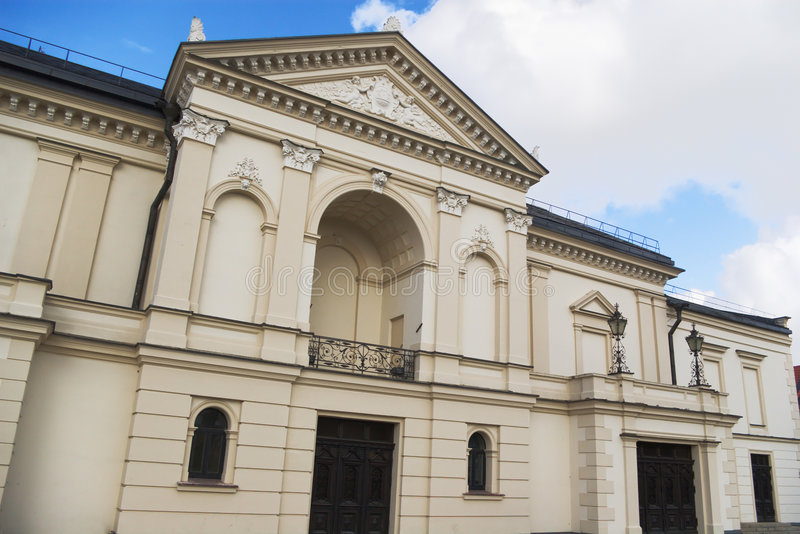 Klaipeda Drama-Theater lizenzfreies stockfoto