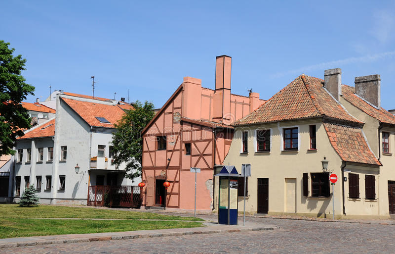 Klaipeda. La Lithuanie images libres de droits