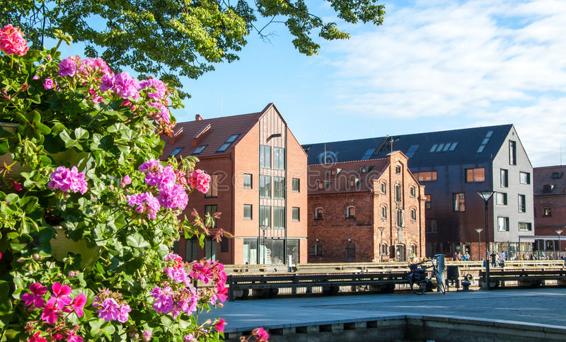Klaipeda. Lithuania royalty free stock images