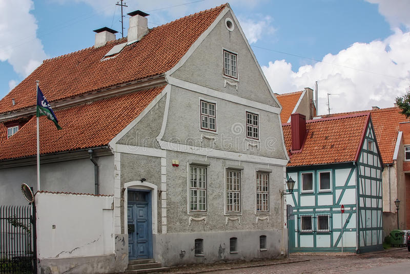 Klaipeda, Lituania immagine stock libera da diritti