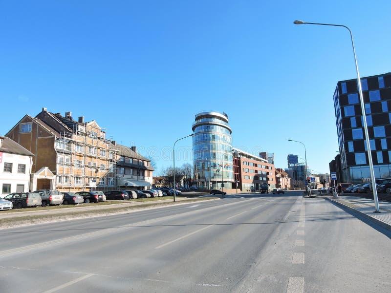 Klaipeda miasteczko, Lithuania zdjęcie stock
