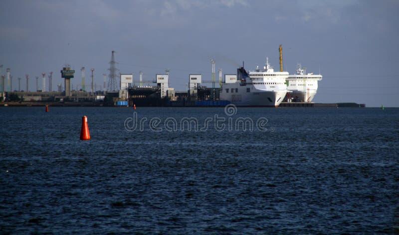 Klaipeda port Lithuania fotografia royalty free