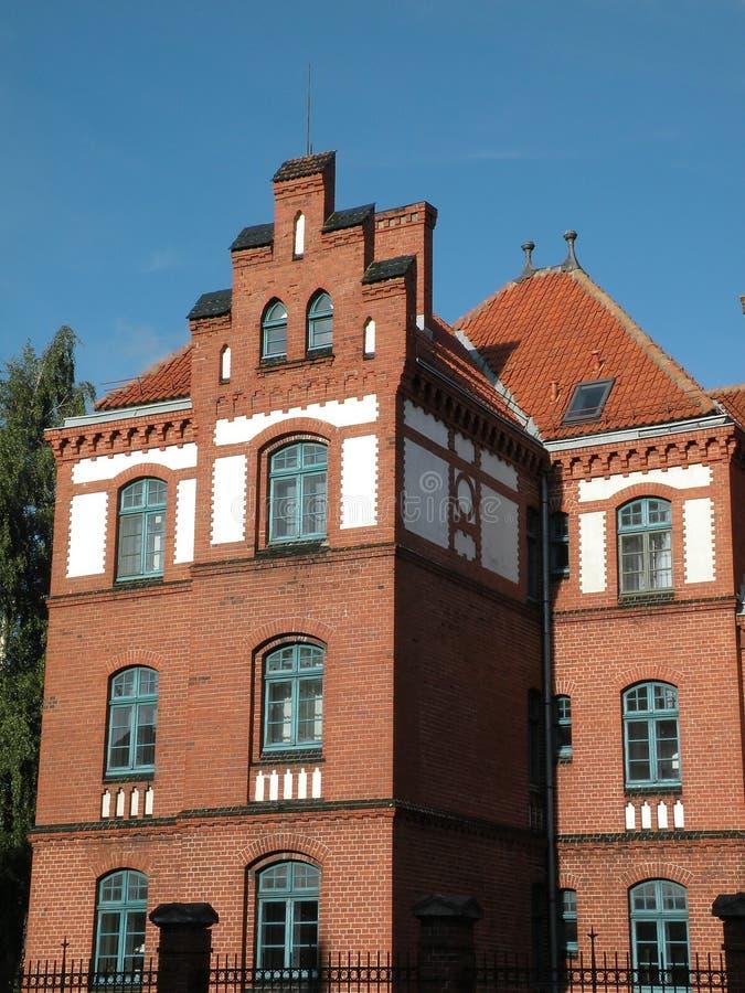 Klaipeda university stock photography