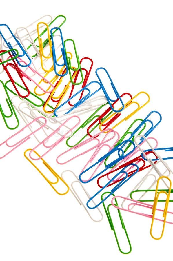 klamerek colorfup papier zdjęcie royalty free