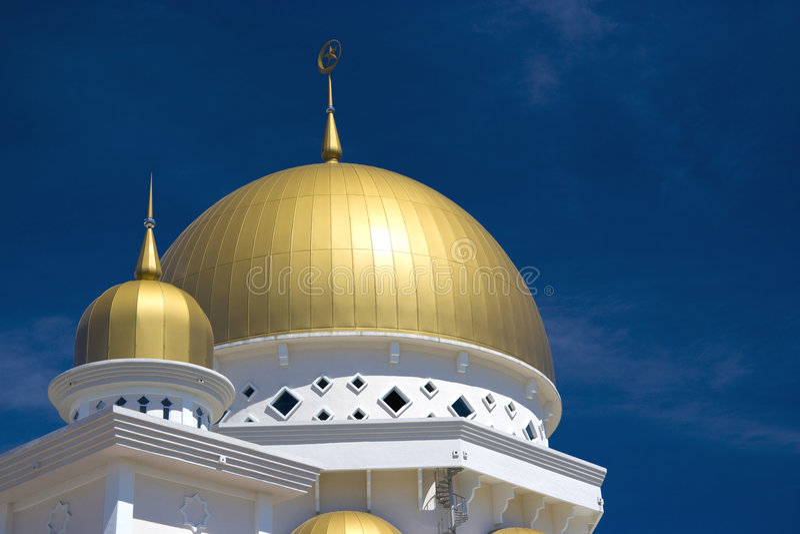 Klang Moschee, Malaysia stockfotografie