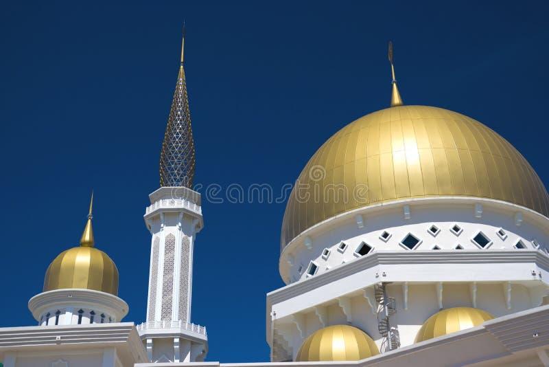 Klang Mosque, Malaysia. Brand new mosque, located at Klang, Selangor, Malaysia royalty free stock photos