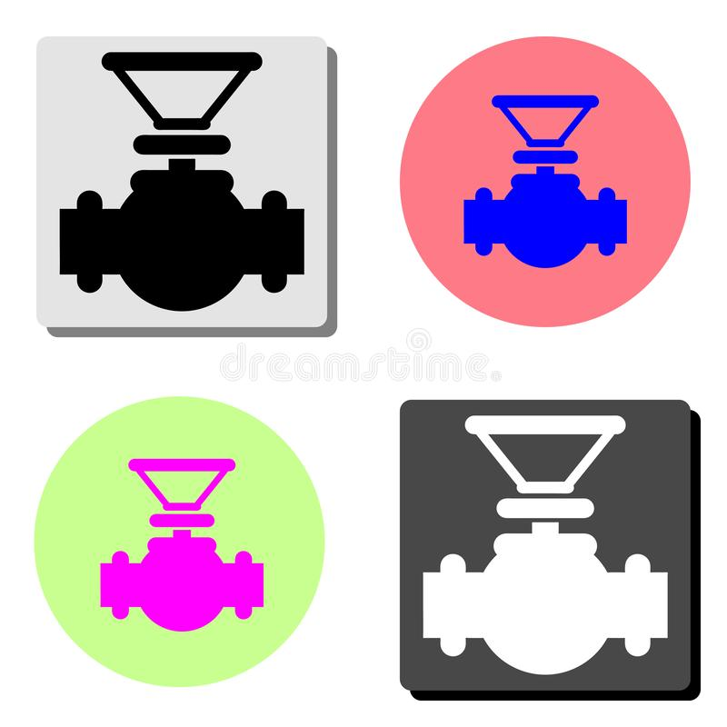 klapa Płaska wektorowa ikona ilustracji
