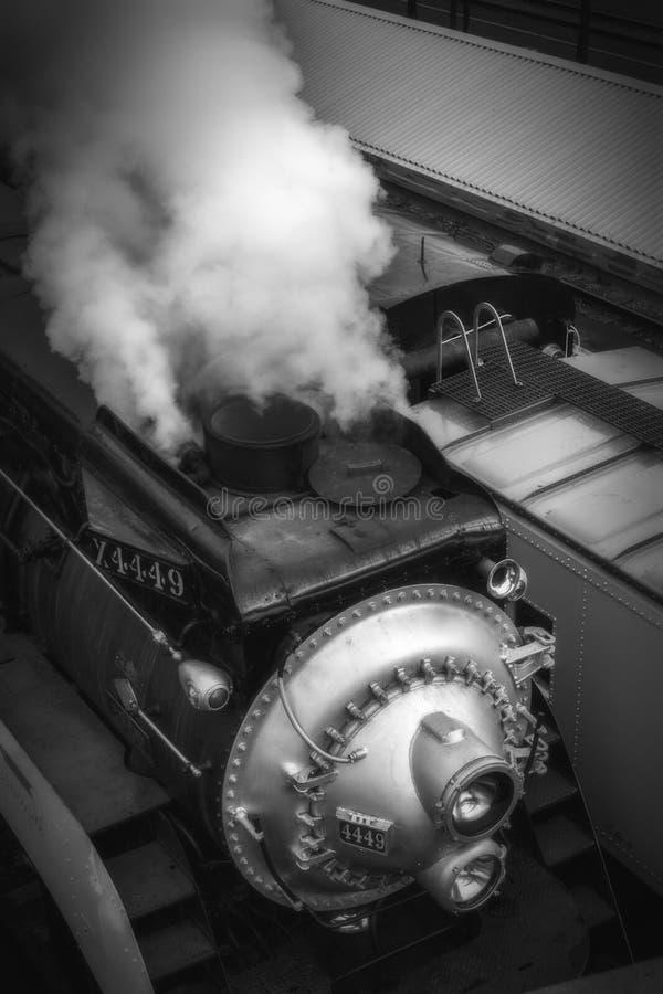 Klar ångamotor arkivbilder