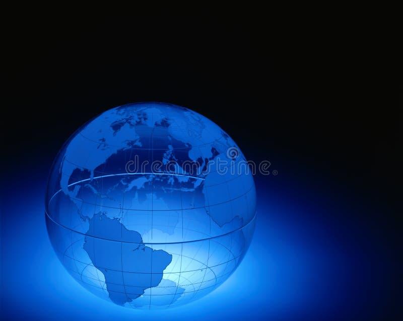 klar jordklotplast-värld arkivbilder