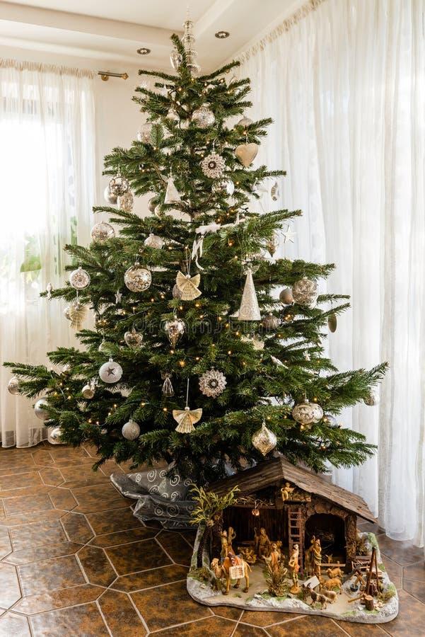 klar jul arkivbilder