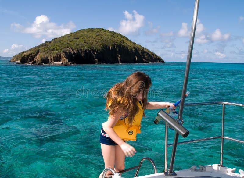 klar snorkeling royaltyfri foto