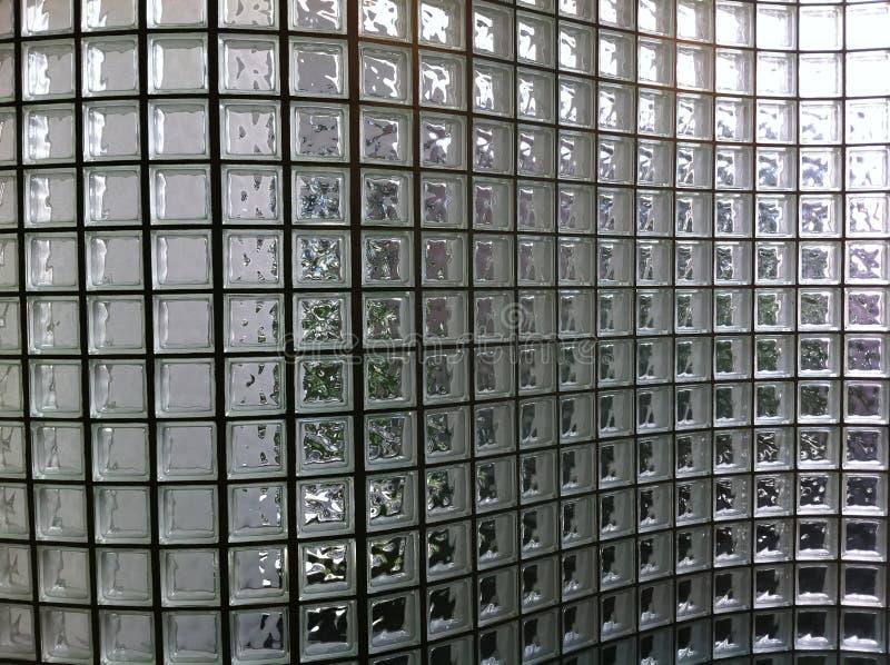 Klar vägg för Glass kvarter royaltyfri fotografi