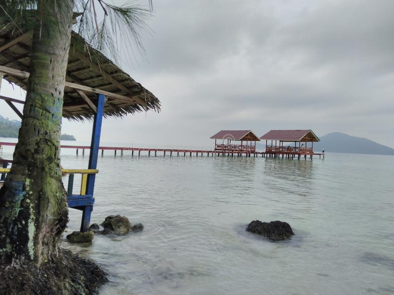 Klara Beach stockfotos