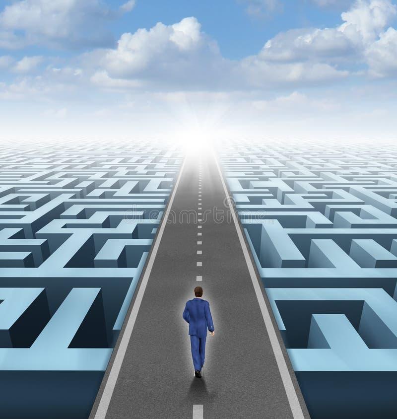 Klare Visions-Führung stock abbildung