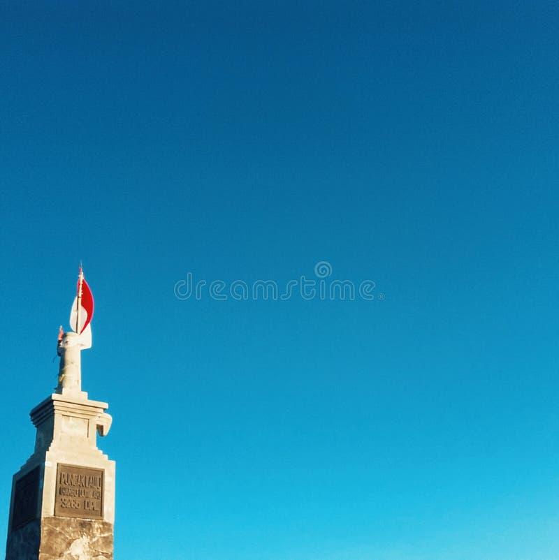 Klarer blauer Himmel stockfotos