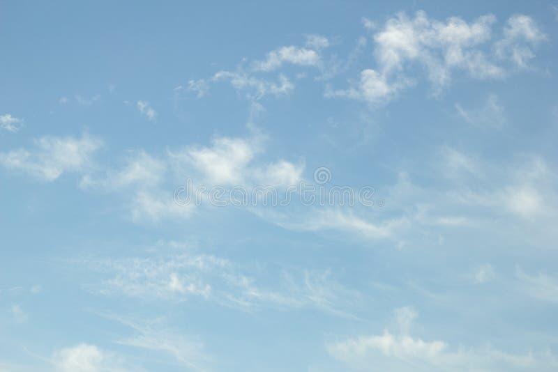 Klarer Himmel stockbild