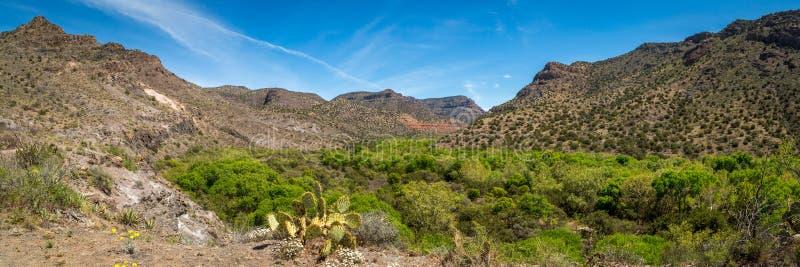Klarer Westnebenfluß Arizona stockfotos