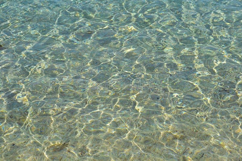 Klares Wasser stockfoto