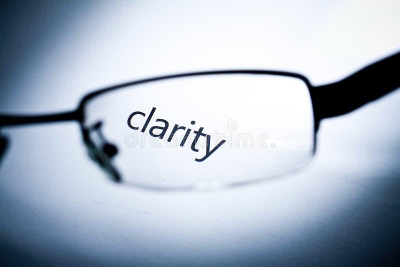 klarowność obraz stock