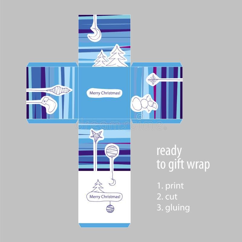 Klart Förpacka För Julgåva Royaltyfri Bild