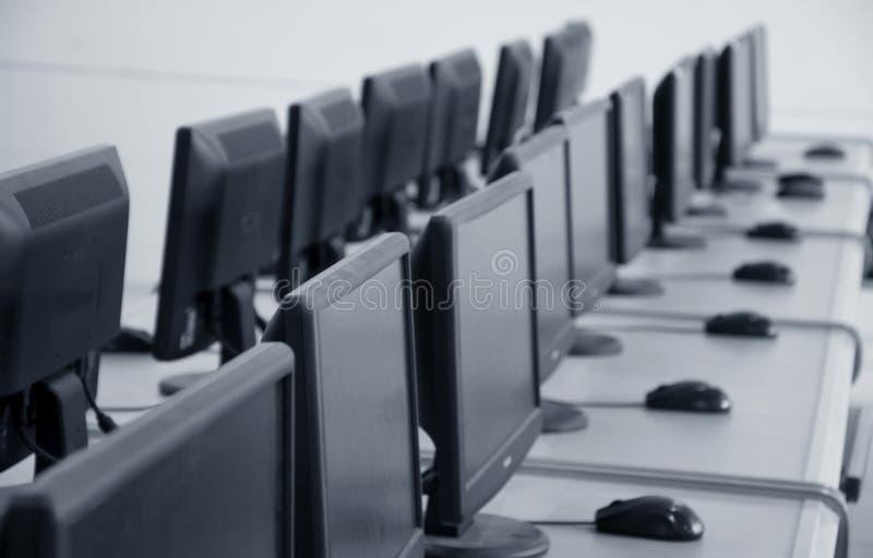 klasa komputera komputerów do rządu obraz stock
