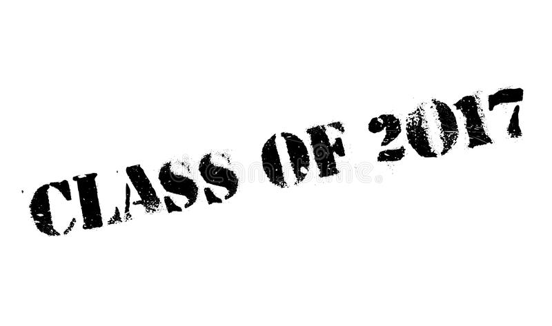 Klasa 2017 znaczek ilustracji