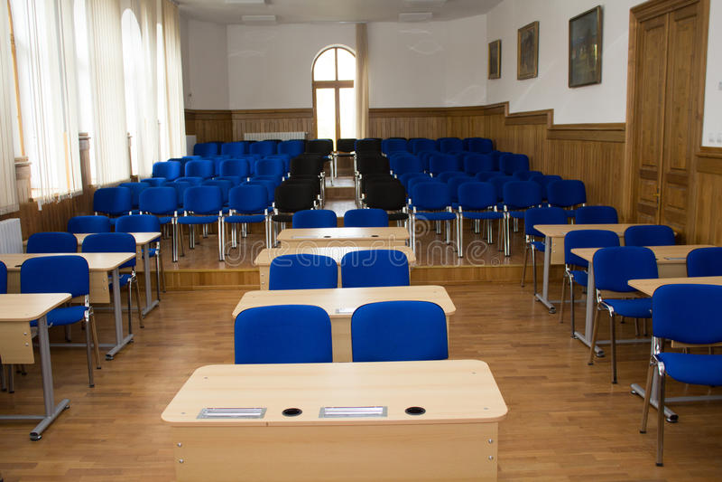 Klaslokaal stock afbeelding