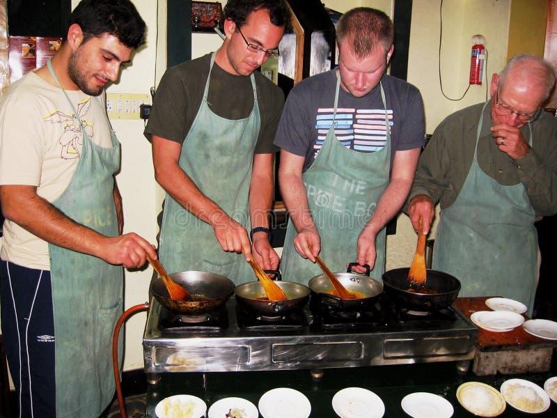 klasowy kucharstwo obrazy stock