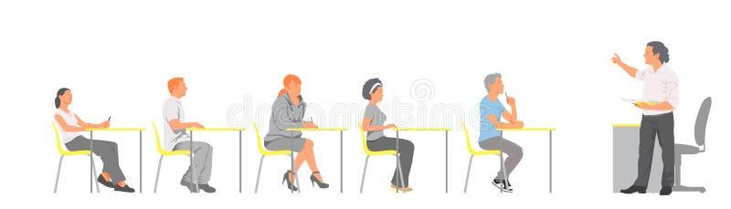klasowy pokój ilustracja wektor