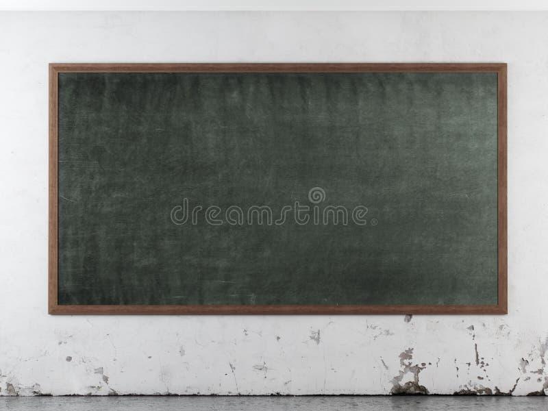 Klasowy pokój z blackboard royalty ilustracja